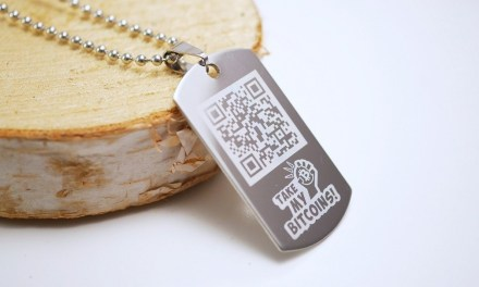 Moda Bitcoin: accesorios con el código de tu cartera digital