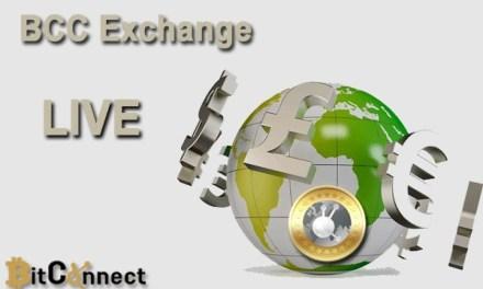 Lanzan Casa de cambio de criptomoneda BCC tras conclusión exitosa de ICO de BitConnect Coin