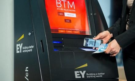 Ernst & Young Suiza presenta cajeros automáticos Bitcoin en el Word Web Forum