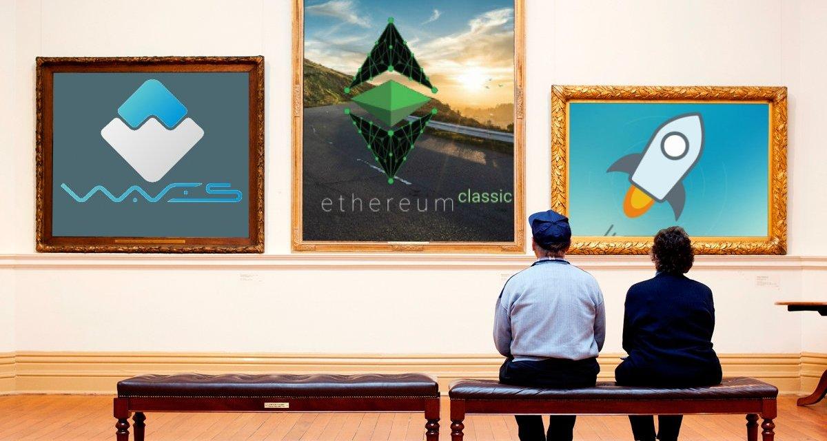 Ethereum Classic y Waves alcanzan su máximo histórico mientras Stellar sube