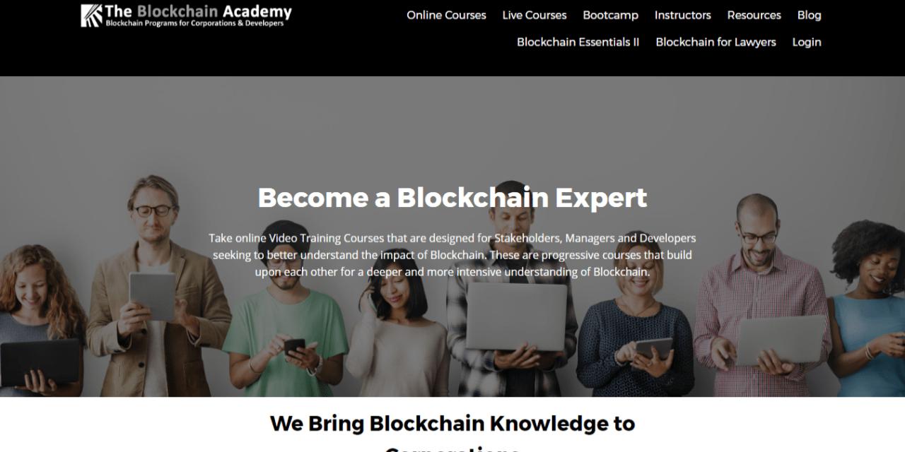 Blockchain Academy estrena cursos express para entusiastas y abogados