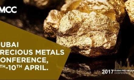 6ta conferencia de metales preciosos de Dubai dará foco propio a blockchain