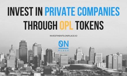 Conviértase en un inversionista de empresas privadas con la Plataforma OnPlace Inc. Impulsada por Blockchain