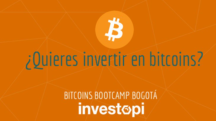 Educación e inversión con Bitcoin llegarán desde Colombia con Investopi