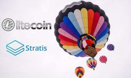 Criptomonedas de Stratis y Litecoin superan marcas de $1 y $20, respectivamente