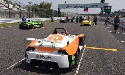 Automóvil patrocinado por Bitcoin correrá en Suzuka