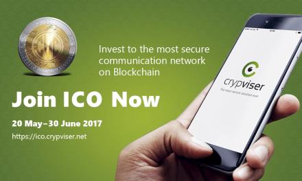 Hasta el 30 de junio podrás participar en el ICO de Crypviser