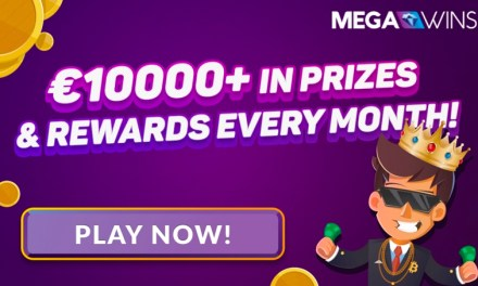 Megawins casino bitcoin sigue pagando sobre los €10.000 en premios cada mes!