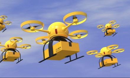Walmart aplica a patente de sistema de rastreo de drones con tecnología blockchain