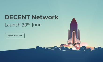 DECENT anuncia distribución de monedas y lanzamiento oficial de su blockchain