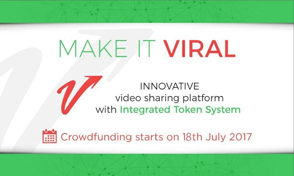 'Make It Viral' anuncia Crowdfunding para plataforma de intercambio de video basada en blockchain