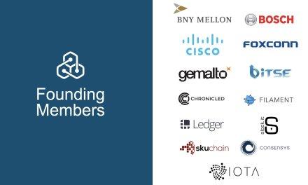 Revelan miembros de alianza para aplicación de blockchain en el Internet de las Cosas