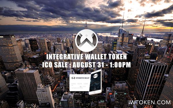 Gestor de criptoactivos Integrative Wallet comienza su ICO este 31 de agosto