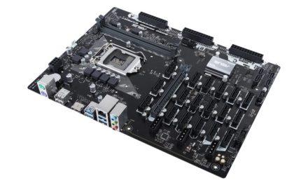 Nivel desbloqueado: ASUS lanzará tarjeta madre con 19 puertos para GPUs