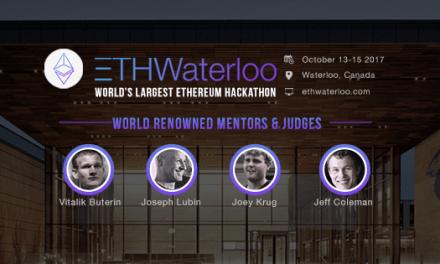 ETHWaterloo, el hackaton de Ethereum que cuenta con la asesoría de sus líderes