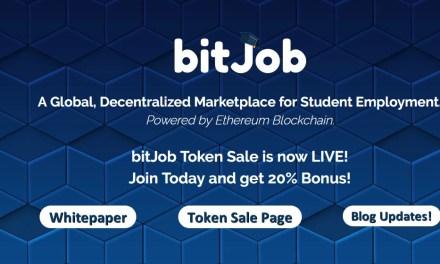 BitJob, solución blockchain para el empleo estudiantil, lanza su ICO