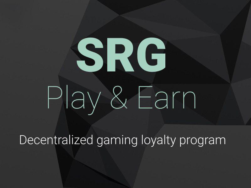 SRG anuncia venta de tokens para el primer programa de lealtad de juegos descentralizados