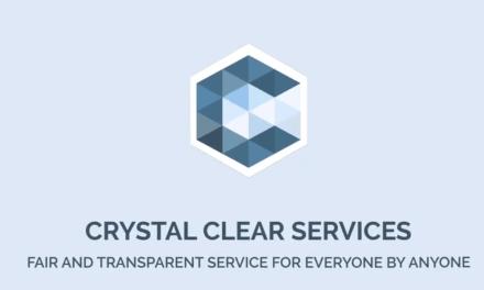 Crystal Clear Services, la plataforma de servicios locales abre su primera ICO mañana