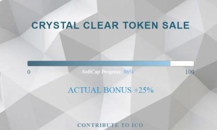 Plataforma de servicios basada en blockchain Crystal Clear abre ICO con bonos de 25%