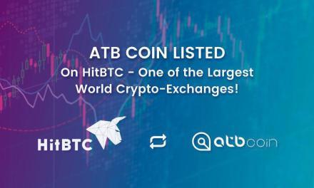 El token para pagos seguros y rápidos ATB Coin ya opera con la casa de cambio HitBTC