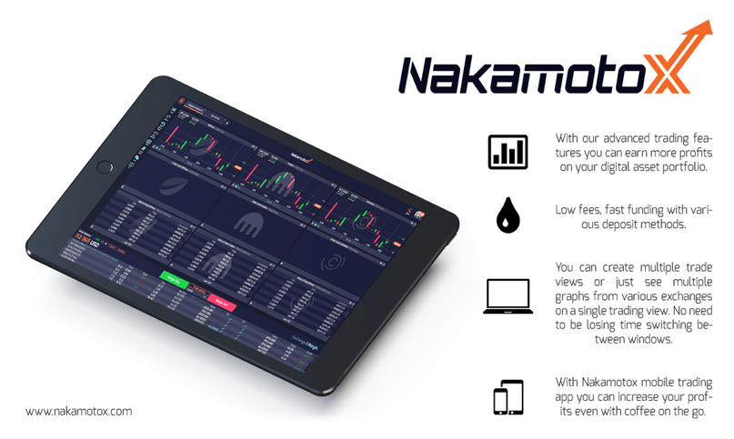 Plataforma de negociación de activos digitales y bitcoins, NakamotoX, anuncia lanzamiento alfa