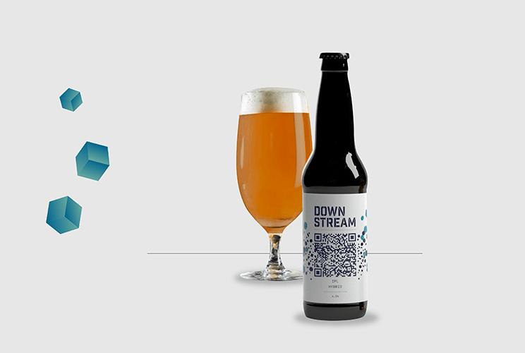 Downstream, la cerveza artesanal que usa tecnología blockchain