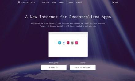 Blockstack lanza versión alfa de su navegador para aplicaciones descentralizadas