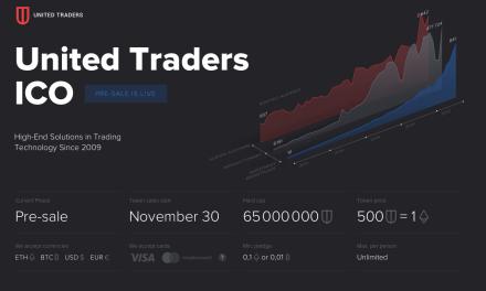 United Traders tendrá ICO a finales de mes