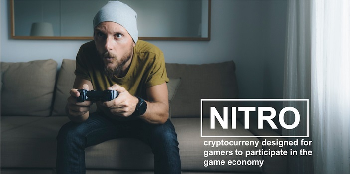 NITRO: primera criptomoneda respaldada por una empresa pública y por el negocio de videojuegos, anuncia ICO