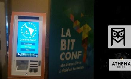Athena Bitcoin instala su primer cajero bitcoin en latinoamérica desde LaBitConf Colombia 2017