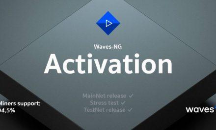 Actualización Waves-NG ya se encuentra activada en la red pública de Waves
