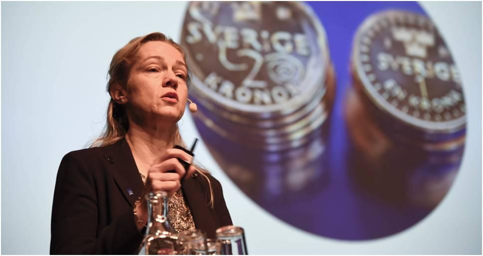 Vicegobernadora del Banco Central de Suecia asegura que bitcoin no es una moneda