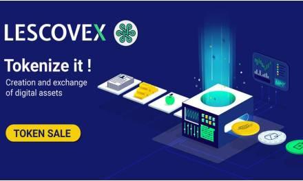 Lescovex anuncia el lanzamiento de su plataforma para la creación e intercambio de tokens