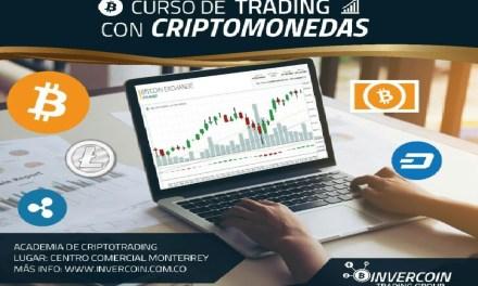 InverCoin ofrece cursos de trading de criptomonedas en Colombia