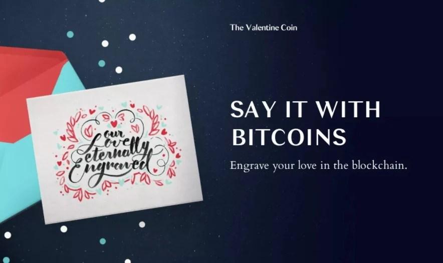 Graba tus mensajes de amor en blockchain este San Valentín