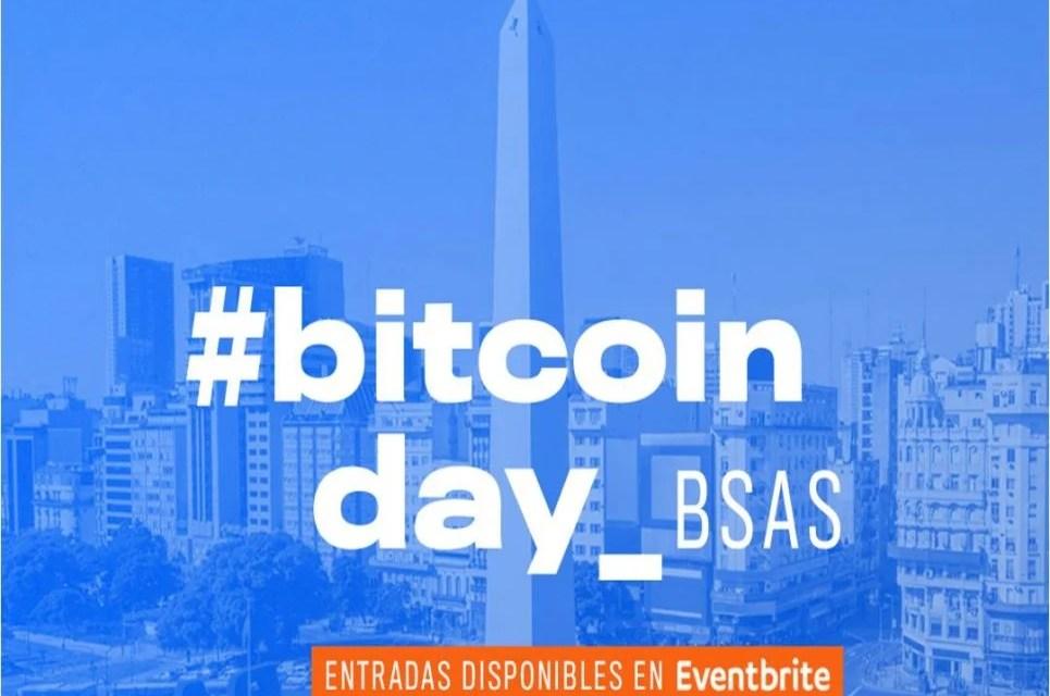 Evento #BitcoinDay llega a Buenos Aires el próximo 5 de abril