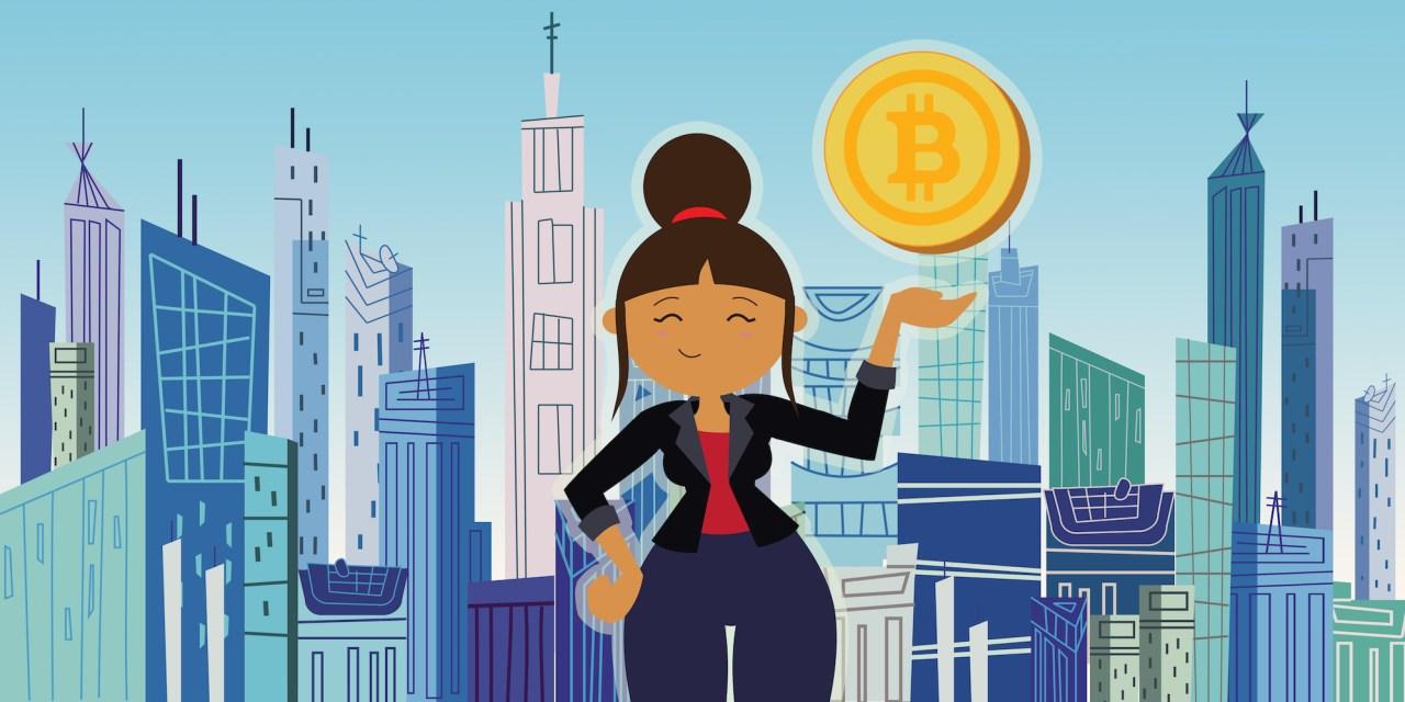 Blockchain se escribe con nombre de mujer
