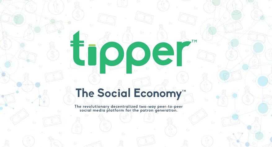 Tipper, Plataforma descentralizada de redes sociales, donde dar consejos paga y cada usuario gana