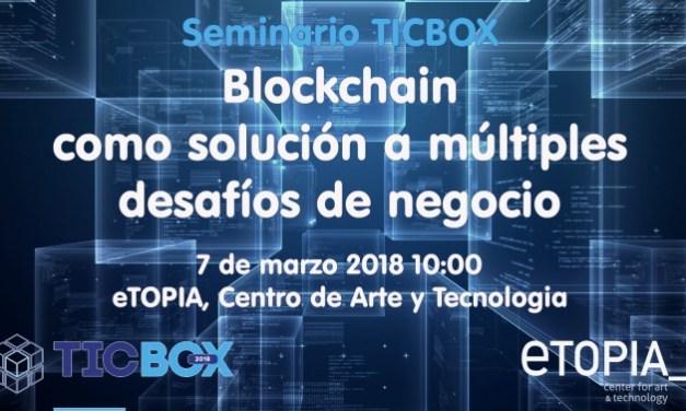 Aragón discutirá impacto de blockchain en modelos de negocio el próximo miércoles