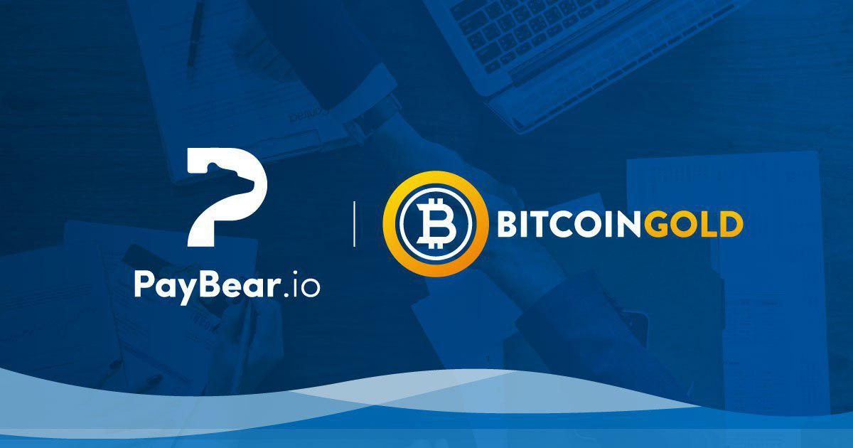 Paybear adopta Bitcoin Gold como medio de pago en compras online