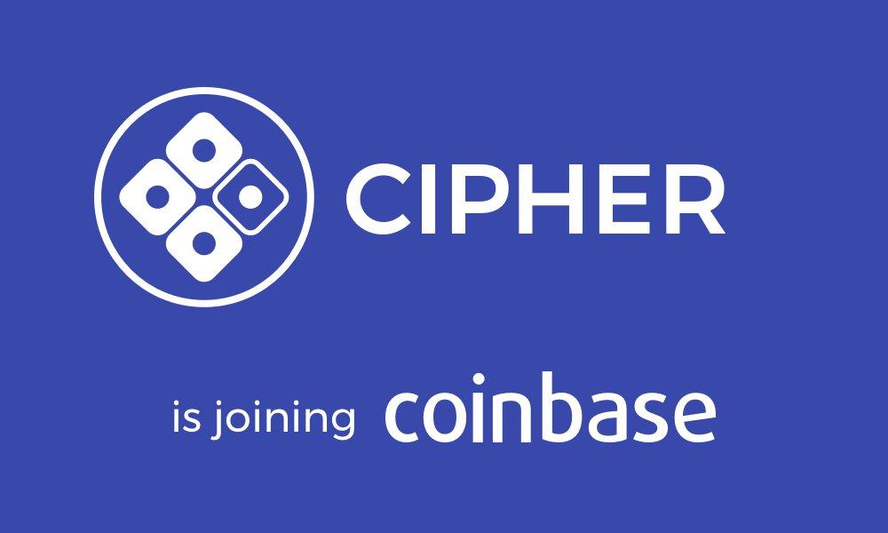 Coinbase adquiere Cipher Browser, la cartera móvil de Ethereum