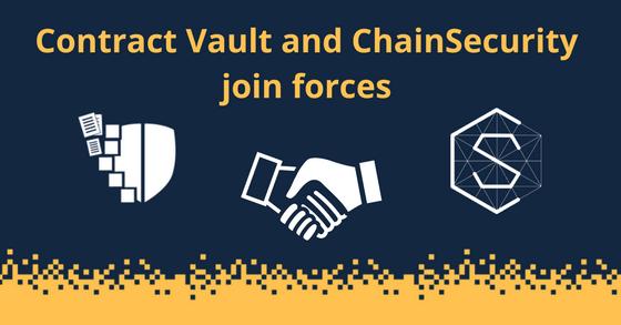 Contract Vault y ChainSecurity se unen para proporcionar servicios de auditoría de contratos inteligentes