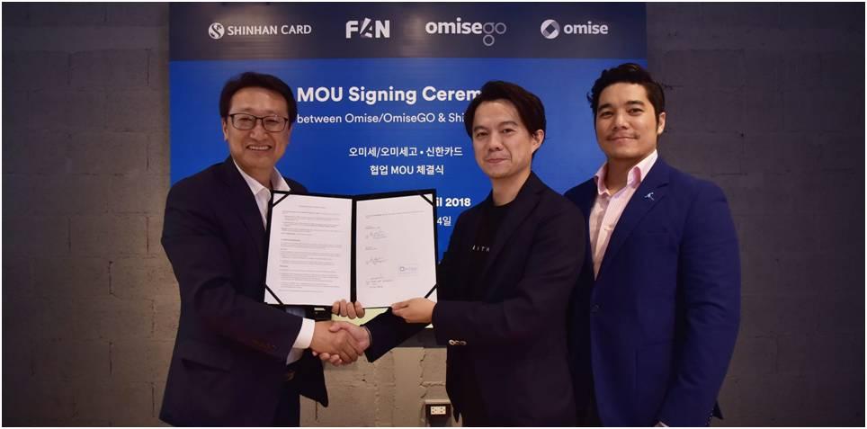 OmiseGO y Shinhan Bank trabajarán en el desarrollo de pagos móviles con blockchain