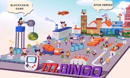 BINGO.FUN (777.BINGO) lanza una exitosa versión beta del criptojuego QTUM Heroes
