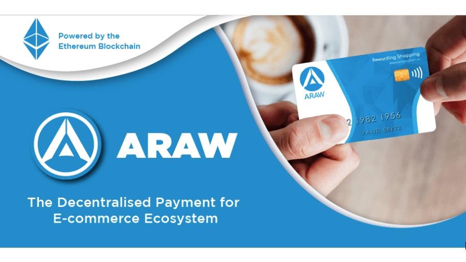 ARAW Token: anuncian su plataforma descentralizada de pago y comercio electrónico