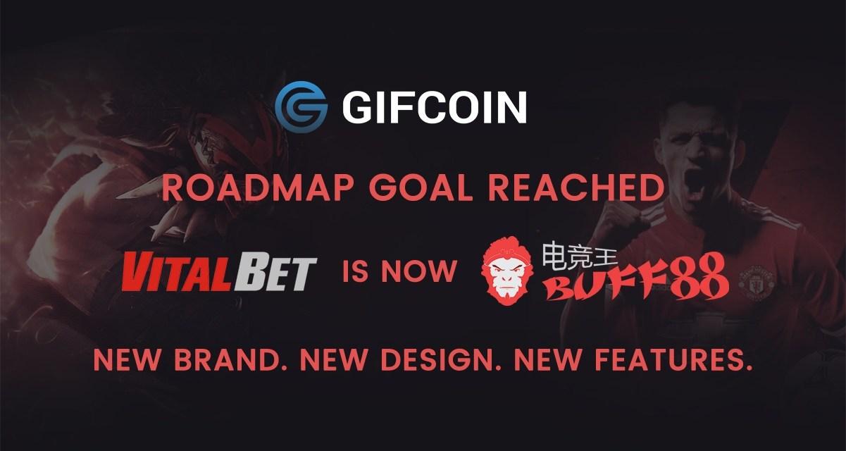 Plataforma de juegos de GIFcoin es renombrada como Buff88