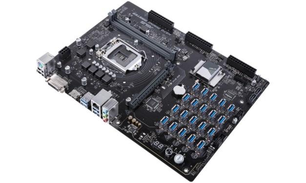 ASUS rompe su récord con nueva tarjeta madre para 20 GPU