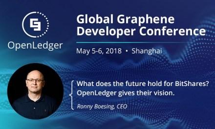 OpenLedger ApS presenta su visión de BitShares en la Conferencia Mundial de Desarrolladores de Grafeno 2018