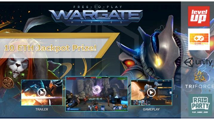 TriForce Tokens lanza Beta del juego móvil MOBA Wargate y App RaidParty