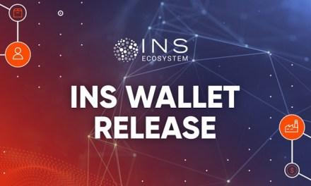Monedero de INS liberado para configurar la puerta de enlace a la plataforma Blockchain INS